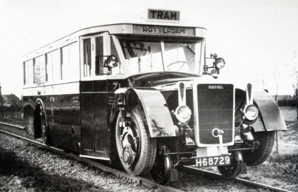 De Roadrailer van de RTM