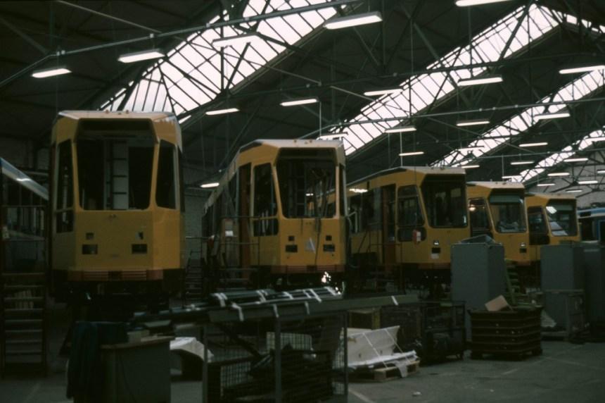 De 700-serie in aanbouw