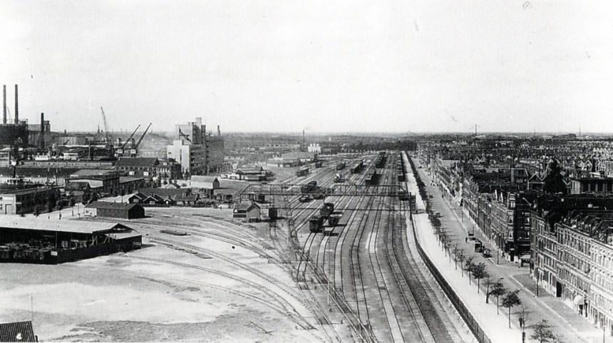 Emplcement Vierhavenstraat ca. 1935