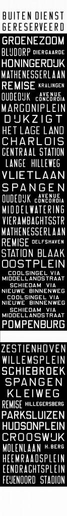 De lijnfilmrol voor de Düwag in 1965