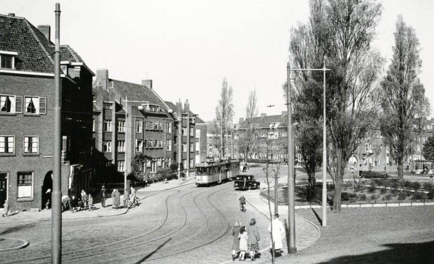 Wachthuisje P.C. Hooftplein, 1948