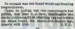 19030903 Brand remise Oostzeedijk 4. (NTC)