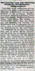 19031206 Onteigening. (De Tijd)