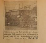 19300429 nieuwe railveegwagen, verzameling Hans Kaper