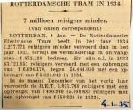 19350104 7 miljoen reizigers minder