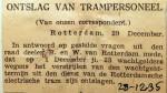 19351228 Ontslag van trampersoneel
