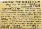 19360401 Vervoercijfers RET lopen nog steeds terug