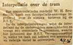 19360704 Interpellatie over de tram
