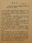 19370805 resultaten RET juli, verzameling Hans Kaper