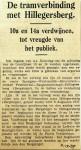 19371206 De tramverbinding met Hillegersberg