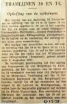 19371216 Opheffing splitsing lijnen 10 en 14