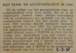 19380706 resultaten RET juni, verzameling Hans Kaper
