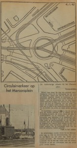 19400104 Marconiplein op de schop, verzameling Hans Kaper