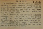 19400302 resultaten RET februari, verzameling Hans Kaper