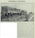 19400312 Stoomtram ontspoord Groene Kruisweg (RN)