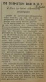 19400605 RET diensten verder uitgebreid, verzameling Hans Kaper