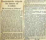 19410117 Trambestuurder weigerde laatste rit