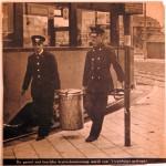 19420820 Bruine bonensoep voor het tramhuisje