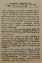 19421104-weer-trams-over-blaak-en-groenendaal, verzameling Hans Kaper