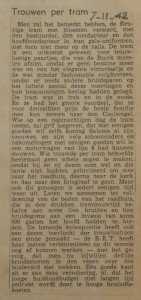 19421107-trouwen-per-tram, verzameling Hans Kaper