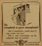 19431021-Advertentie-De-treeplank-is-geen-staanplaats, verzameling Hans Kaper