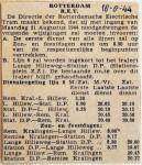 19440818 Wijzigingen eerste en laatste diensten