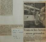 19440915-Tram-en-bus-botsten, Verzameling Hans Kaper