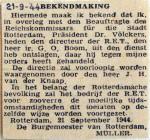 19440921 RET directeur ontslagen