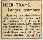 19450814 Meer trams langer trammen
