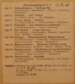 19450817-Dienstregeling-RET, Verzameling Hans Kaper