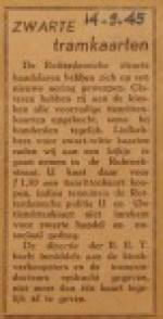 19450914-Zwarte-tramkaarten, Verzameling Hans Kaper