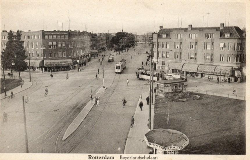 AHR 374 lijn 3 Groene Hilledijk-Beijerlandschelaan ca 1930