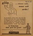 19460429-Advertentie-Orde, Verzameling Hans Kaper