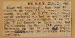 19460523-Tramlijnen-5-en-12-weer-in-dienst, Verzameling Hans Kaper