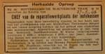 19460627-Advertentie-chef-reparatiewerkplaats, Verzameling Hans Kaper