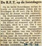 19461224 De RET op de feestdagen