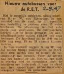 19470902-Nieuwe-autobussen-voor-de-RET, Verzameling Hans Kaper