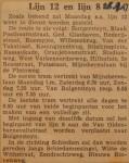 19470926-Lijn-12-en-lijn-8, Verzameling Hans Kaper