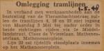 19480501-Omlegging-tramlijnen-vierambachtsstraat, Verzameling Hans Kaper