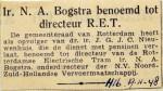 19481119 Ir. Bogtstra benoemd
