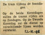 19481221 De tram tijdens de feestdagen