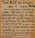19501123-Twee-motorwagens-per-10-dagen, Verzameling Hans Kaper