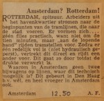 19501201-Amsterdam-Rotterdam, Verzameling Hans Kaper