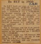 19510507-De-RET-in-1950, Verzameling Hans Kaper