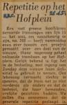 19510626-Repetitie-Hofplein, Verzameling Hans Kaper