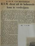 19521211-RTM-uit-bebouwde-kom, Verzameling Hans Kaper