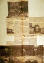 19541019 Tramverkeer nam bezit van Stationsplein