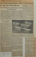 19550511-Tramwagenbouw-in-Nederland-bleef-achter, Verzameling Hans Kaper