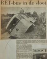 19550808-RET-bus-in-de-sloot, Verzameling Hans Kaper