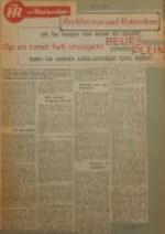 19551116-A-Het-Beursplein-in-rook-en-stoom, Verzameling Hans Kaper